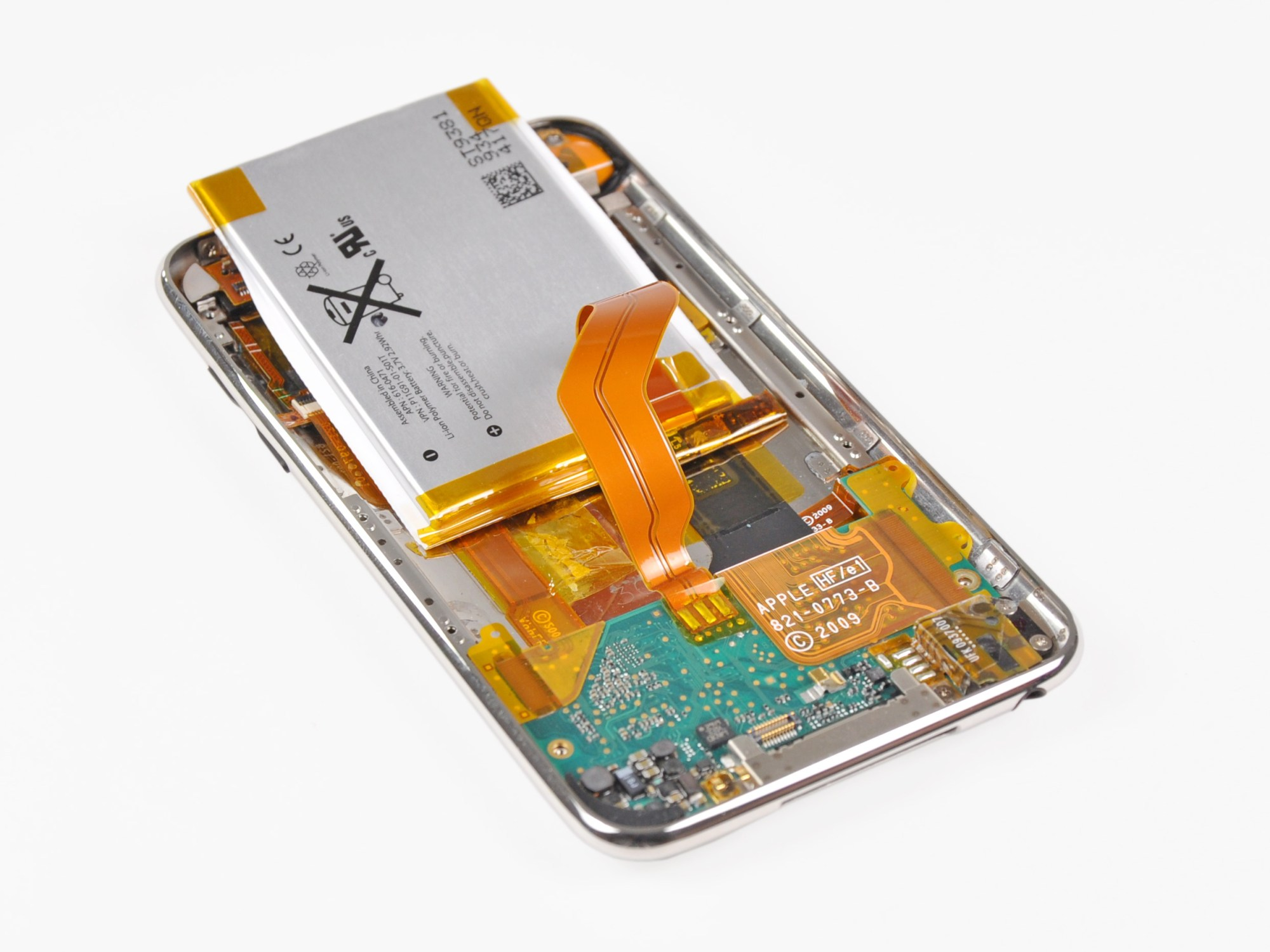 hight resolution of ipod touch 3rd generation battery replacement ifixit repair guide mini usb wiring diagram ipod touch wiring diagram