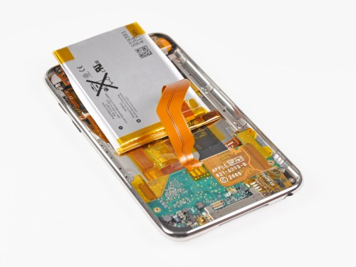 small resolution of ipod touch 3rd generation battery replacement ifixit repair guide mini usb wiring diagram ipod touch wiring diagram