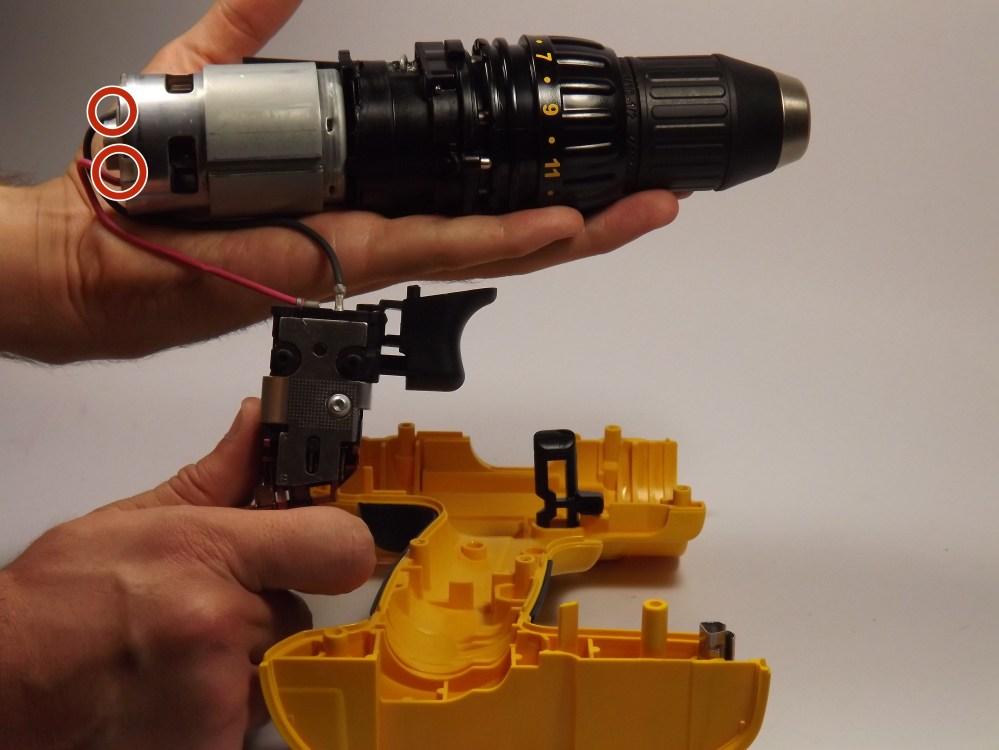 medium resolution of dewalt dc970 motor replacement