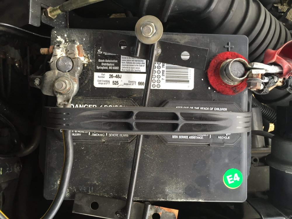 medium resolution of how to replace a corroded car battery terminal