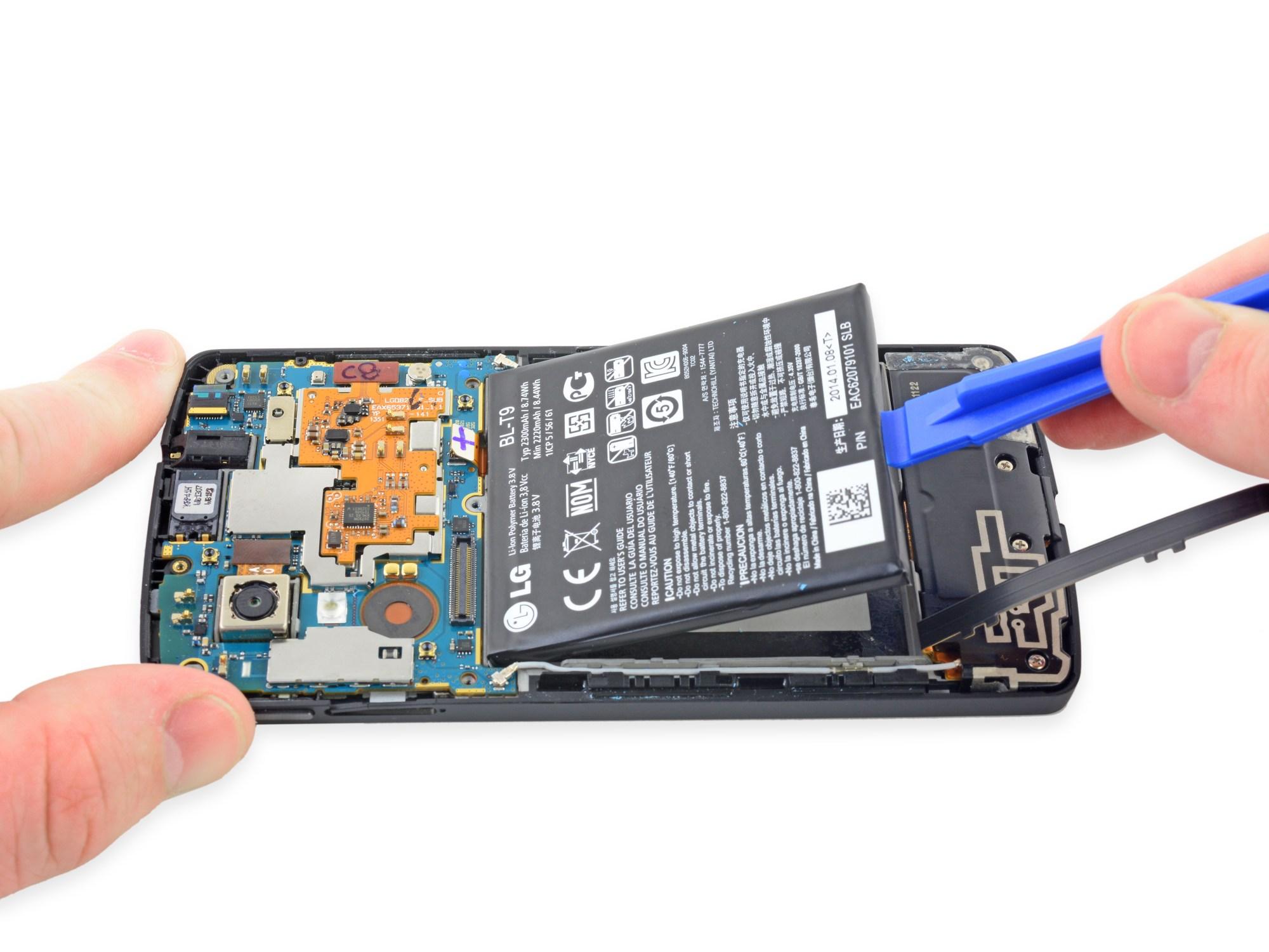 hight resolution of battery