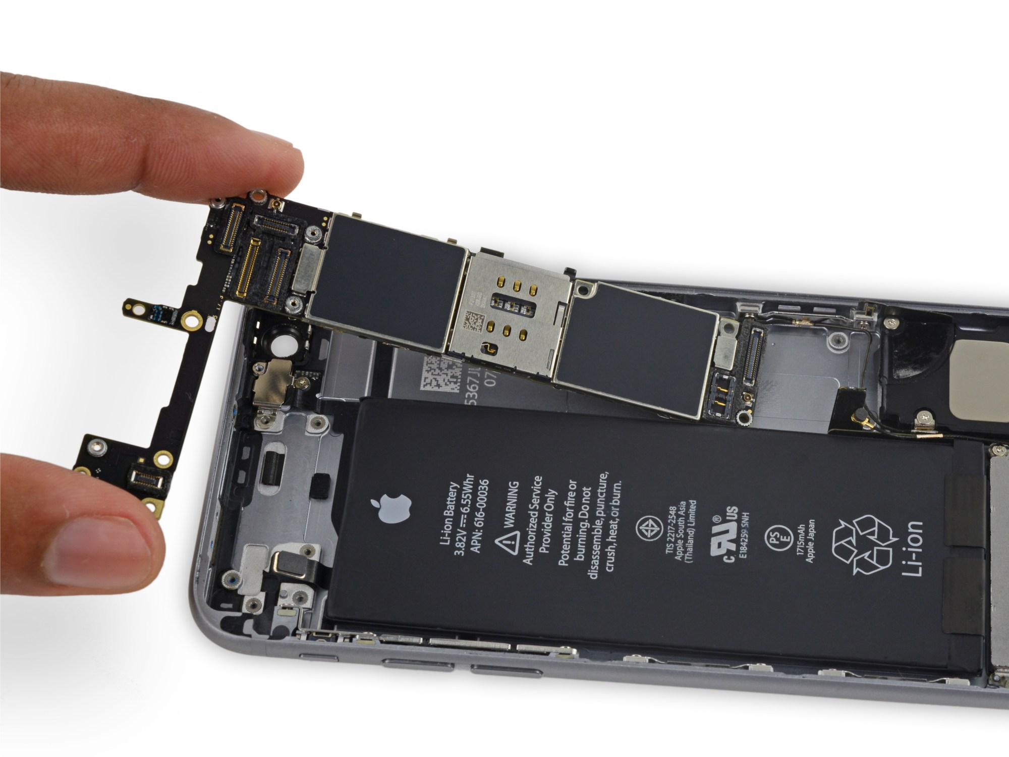 hight resolution of iphone 6s logic board replacement ifixit repair guide iphone 6 plus parts diagram iphone 6 screen connection diagram