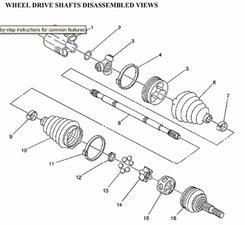 SOLVED: 2008 HHR right front half shaft inner knuckle