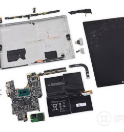 microsoft surface pro 3 teardown ifixit surface 2 keyboard wire schematics  [ 3360 x 2520 Pixel ]