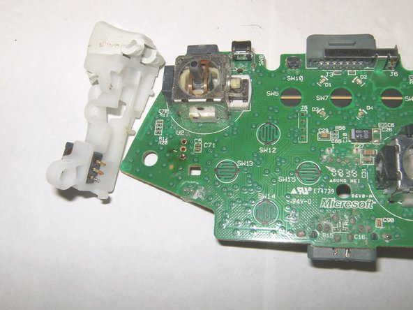 To Remove The Two Analog Sticks Turn The Circuit Board Over And Just