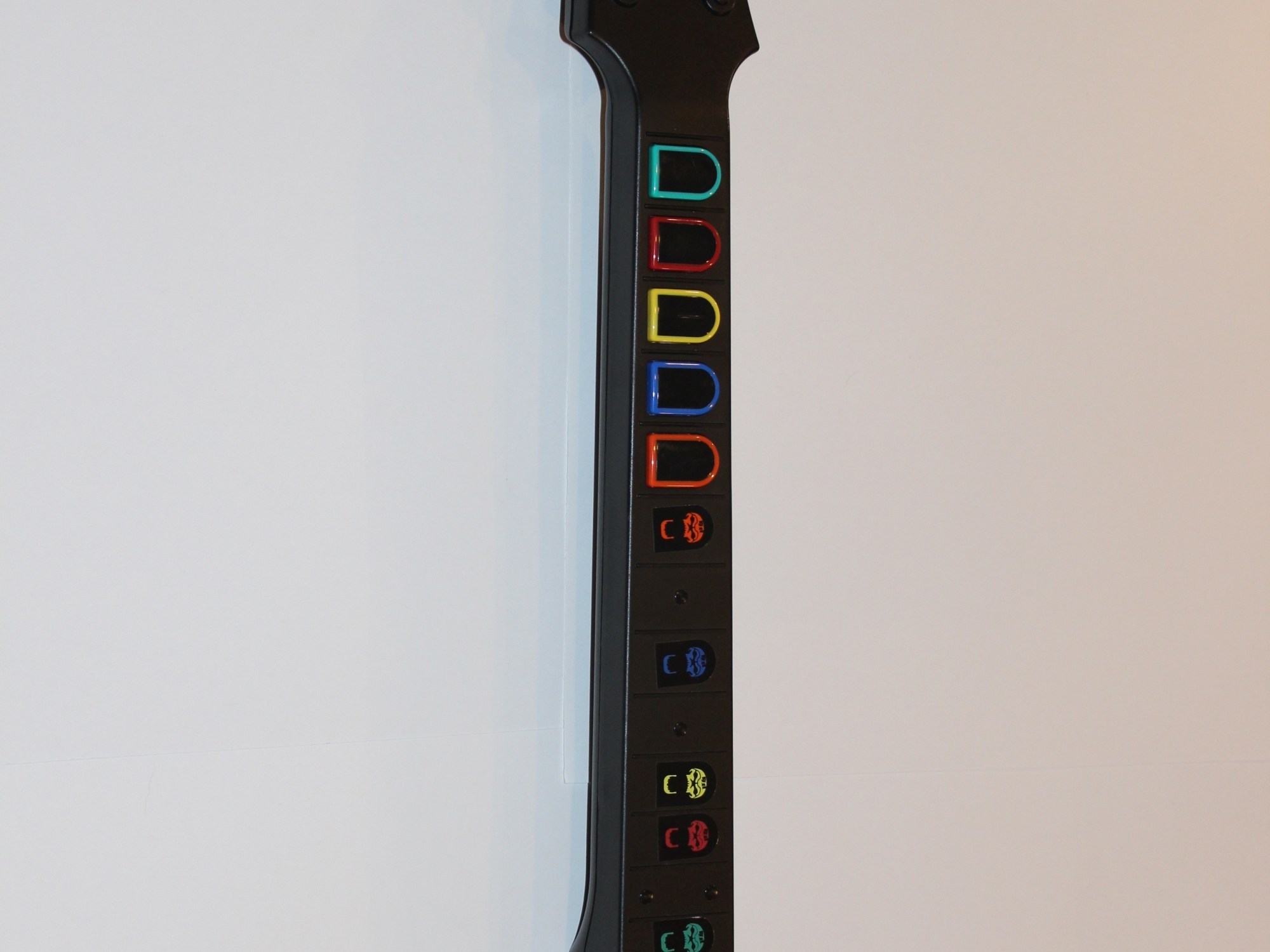 hight resolution of fret buttons
