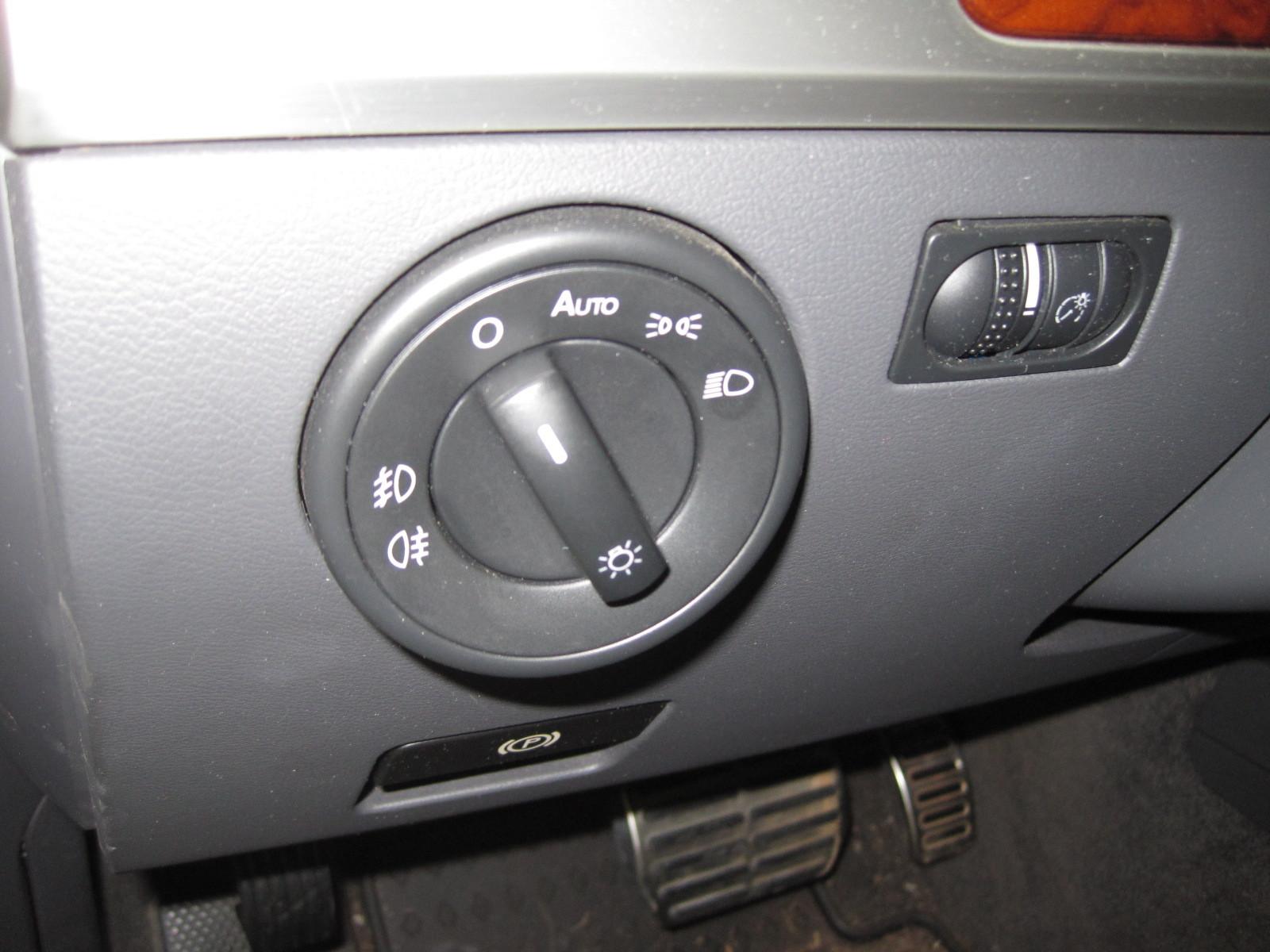 vw touareg 2005 wiring diagram kitchenaid professional 600 parts 2004 2010 volkswagen european headlight switch