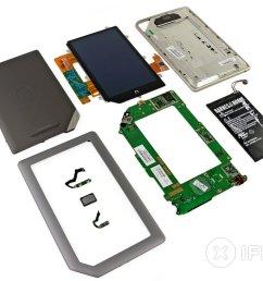 nook tablet teardown ifixit nook motherboard diagram [ 3360 x 2520 Pixel ]