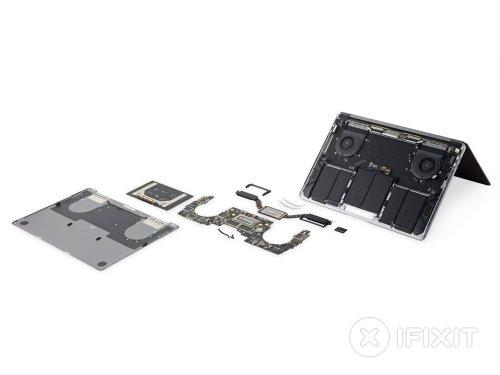small resolution of macbook pro 13 touch bar 2018 teardown