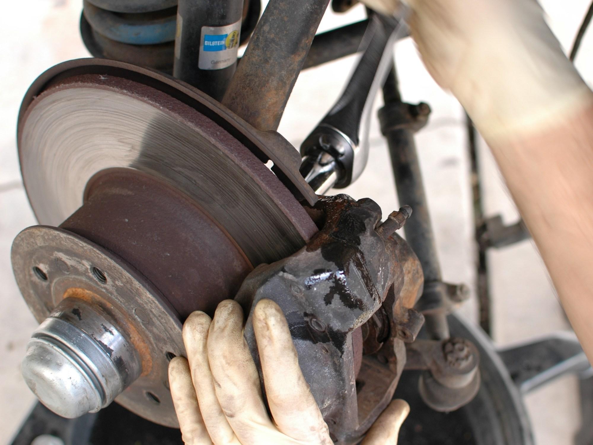 hight resolution of brake caliper front