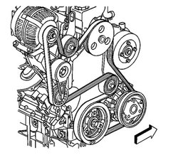 SOLVED: Serpentine belt installation diagram for 1999