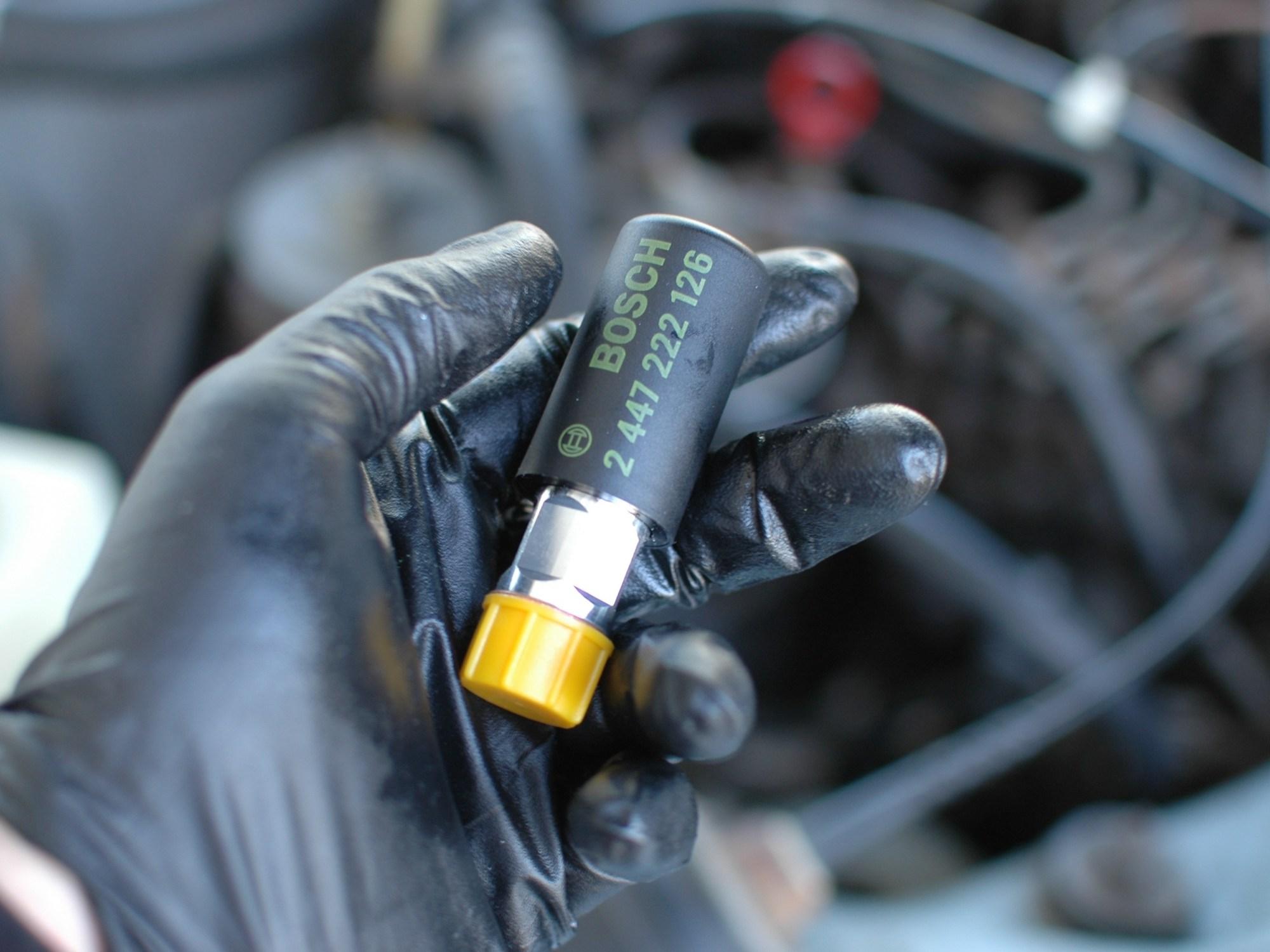 hight resolution of fuel primer pump