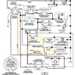 John Deere 317 Ignition Switch Wiring Diagram Glow Stick Solved How Do I Wire A New Craftsman Riding Mower Block Image