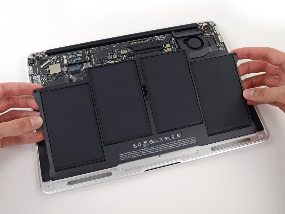 medium resolution of macbook air 13 mid 2013 battery replacement