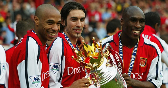 A tribute to Arsenal's amazing Double-winning team of 2001-02 ...