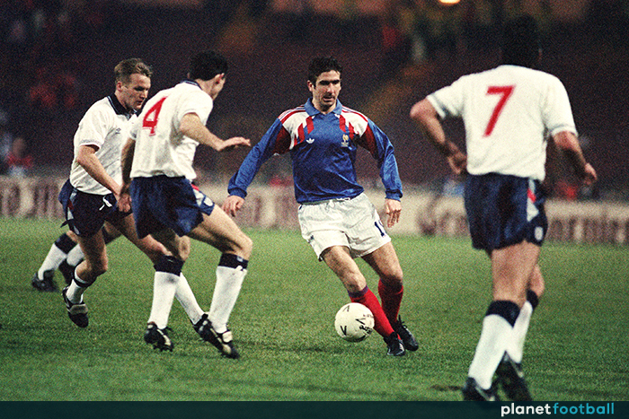 Eric cantona once suggested france manager henri michel was 'a bag of s***' for which got him a year long ban from playing for his country but. Eric Cantona France 1992 Planet Football