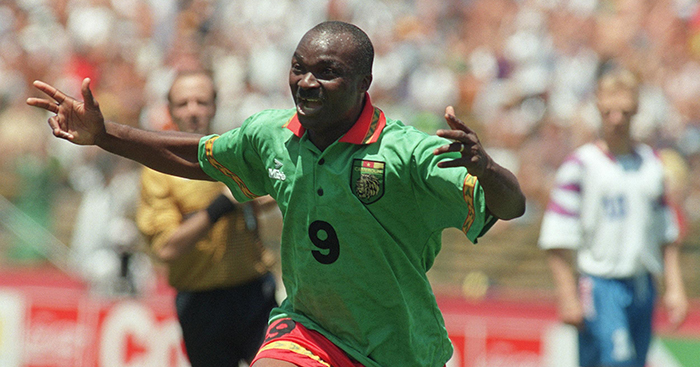 Image result for Roger Milla: Cameroon