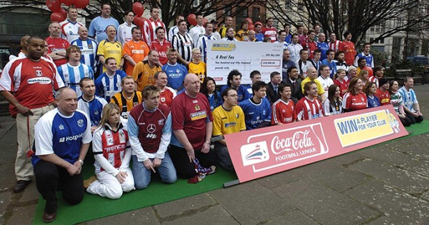 Remembering Coca-Cola's strange but brilliant 'Win a Player' competition -  Planet Football