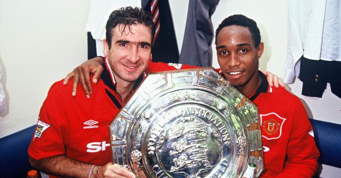 Eric Cantona Paul Ince Manchester United 1994