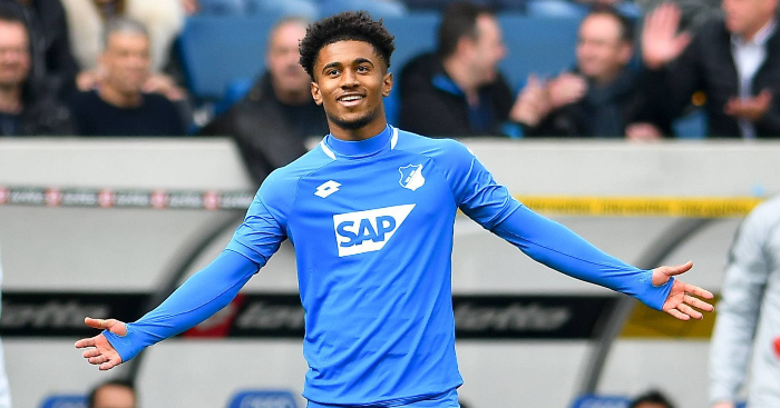 Reiss Nelson Celebrates Hoffenheim Arsenal Loanee - The nine Arsenal players sent out on loan this season