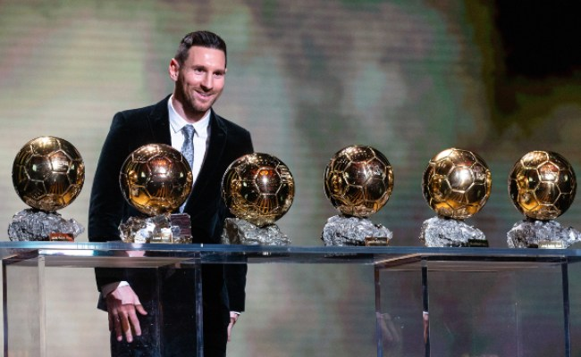 11 Incredible Stats From Lionel Messi S Ballon D Or