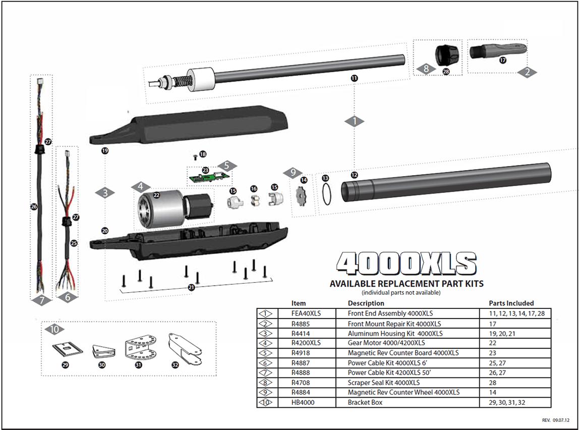 Gto Pro Sw Xls Parts Linear Pro Access