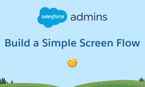 build a simple screen