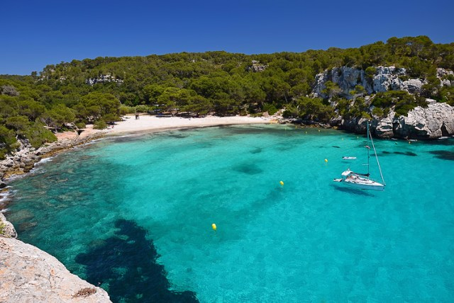 Cala Macarelleta, Menorca, Spain