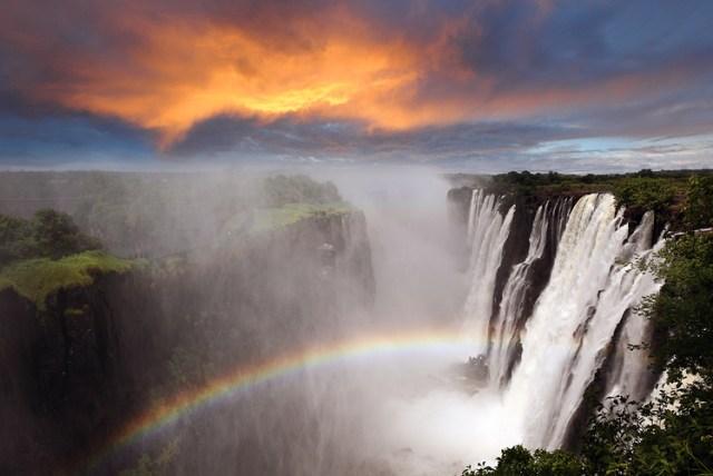 Victoria Falls, ZambiaZimbabwe