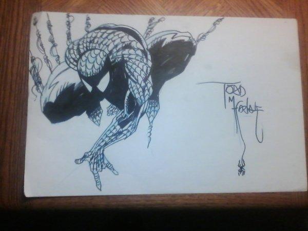 Todd McFarlane Spider-Man Sketches