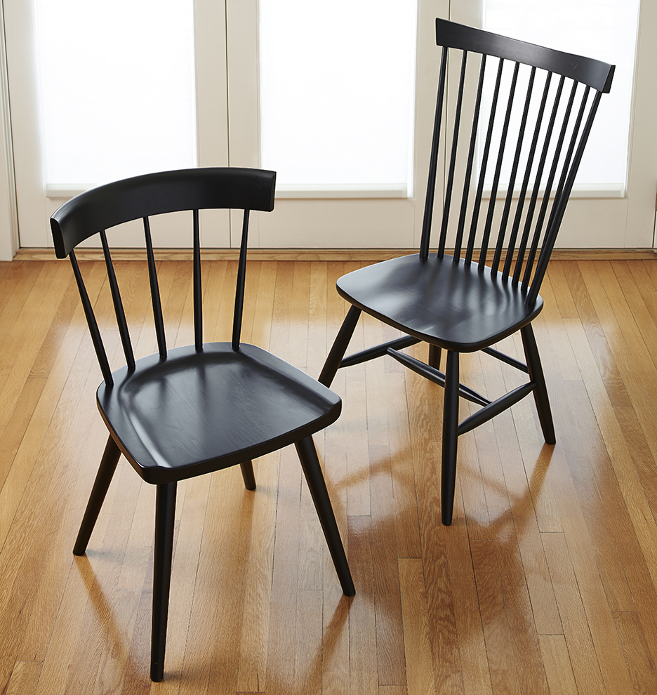 Windsor Chairs Black High Back Chair