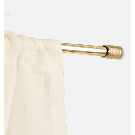 small cafe curtain rods
