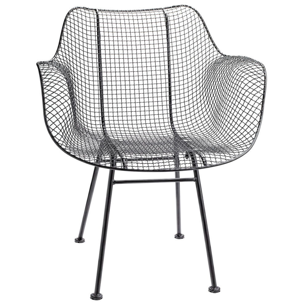 mid century modern wire chair chairs for dining room tables shoptagr by rejuvenation