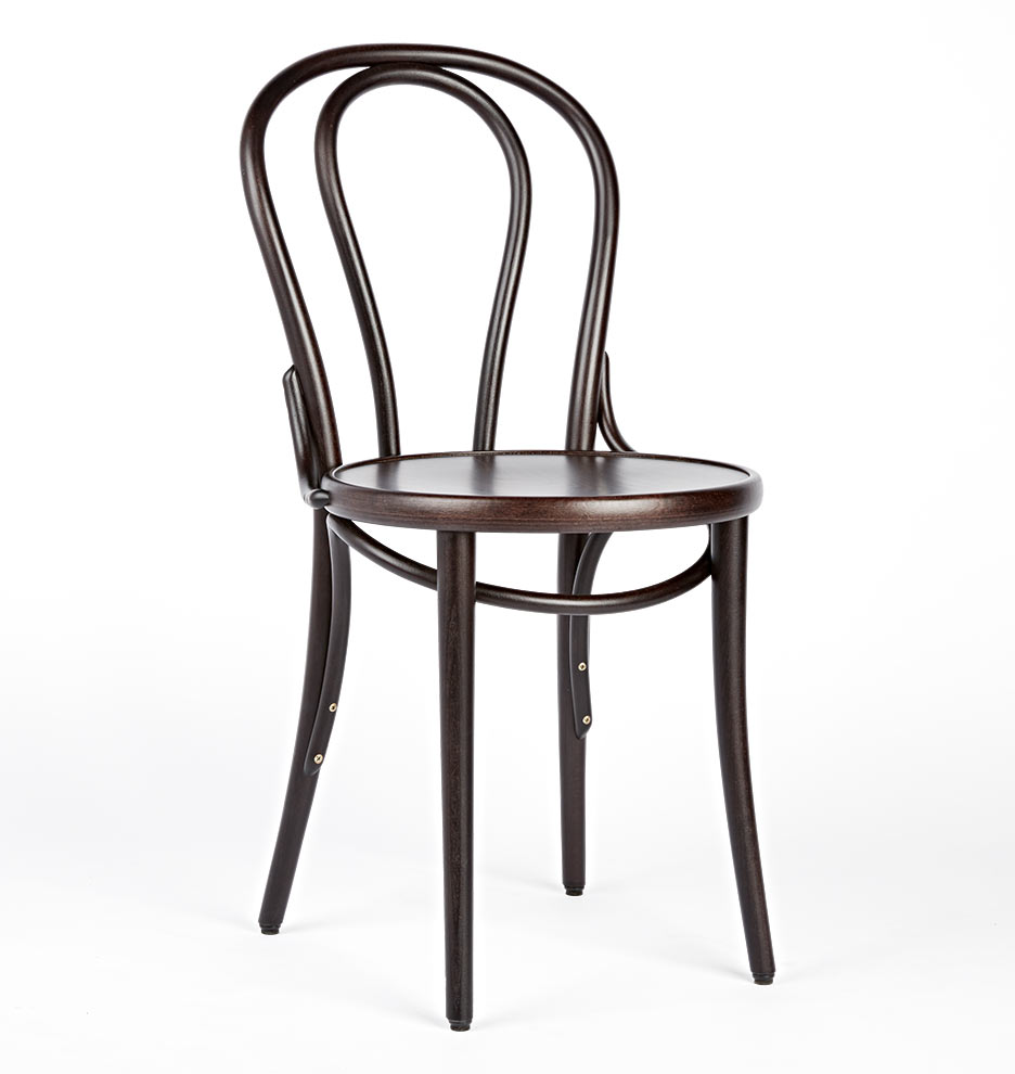 White Bistro Chairs Ton 18 Bentwood Bistro Chair