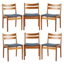 Danish Modern Dining Chair Office Or Gaming Set Of 6 Oak Chairs By Slagelse Rejuvenation Product Description A Handsome