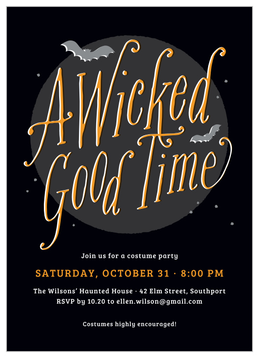 I'd like to be a mermaid with a spear through my stomach, so somewhat of a zombie/corpse mermaid. Adult Halloween Party Invitations Match Your Color Style Free
