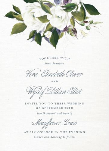 wedding invitations match your