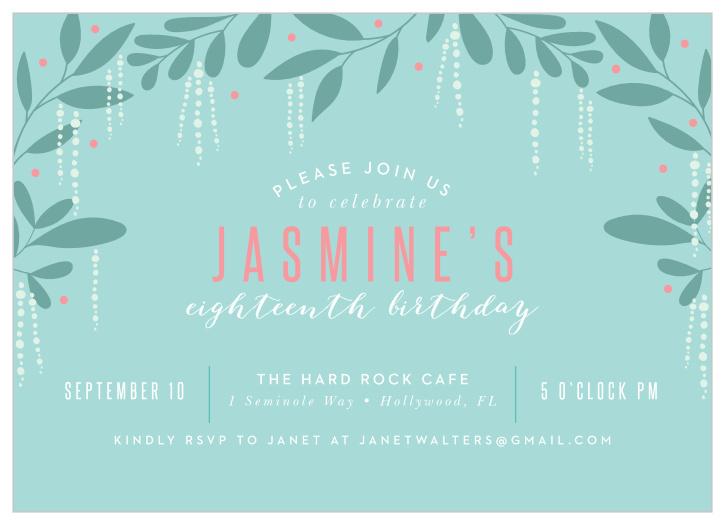 80th birthday invitations design