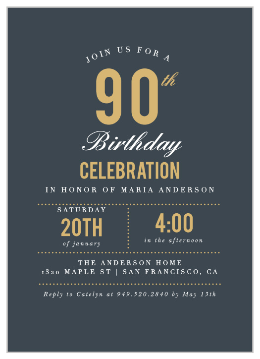 birthday invitations birthday party
