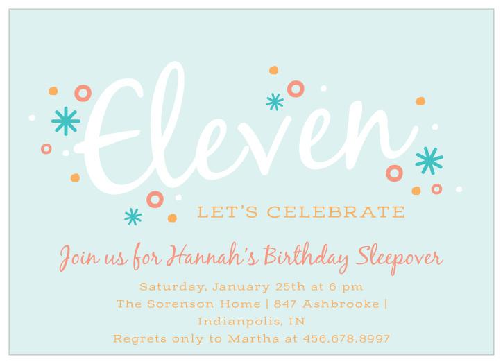 birthday party invitations match