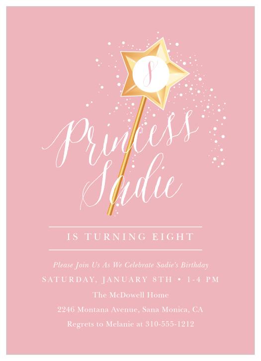 fairy children s birthday invitations