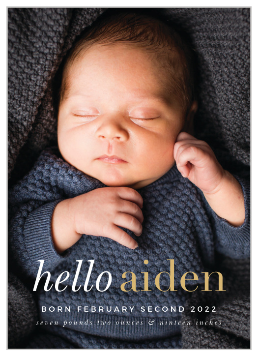birth announcements 40 off