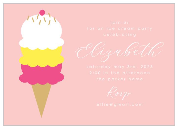 ice cream children s birthday