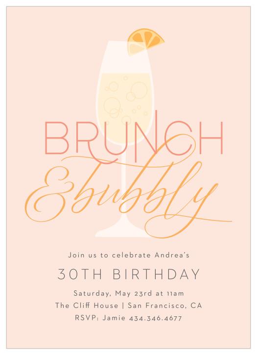 birthday party invites basic invite