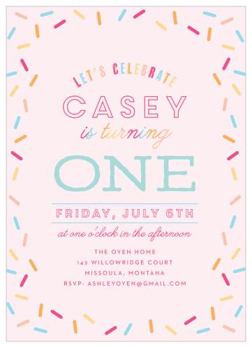 cupcake birthday invitations match