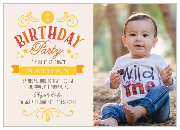 first birthday invitations 40 off