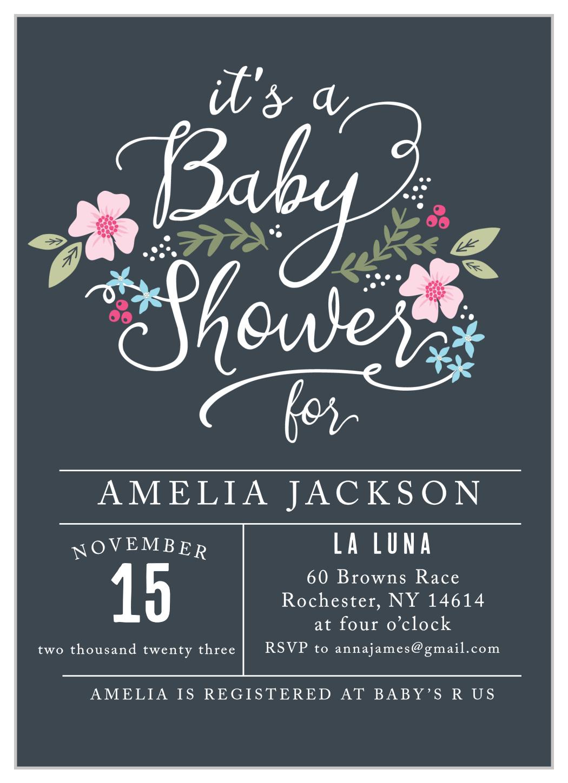 Unisex Baby Shower Invitation Wording
