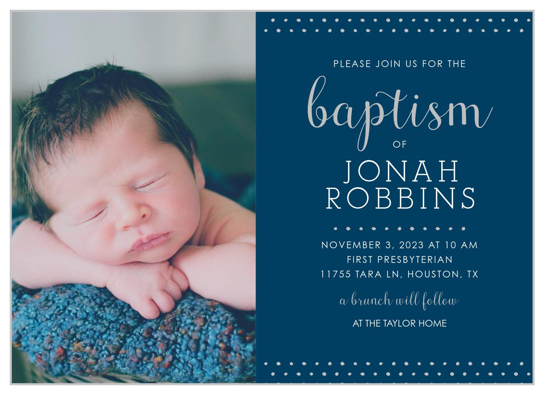 baby boy diy invitation card for