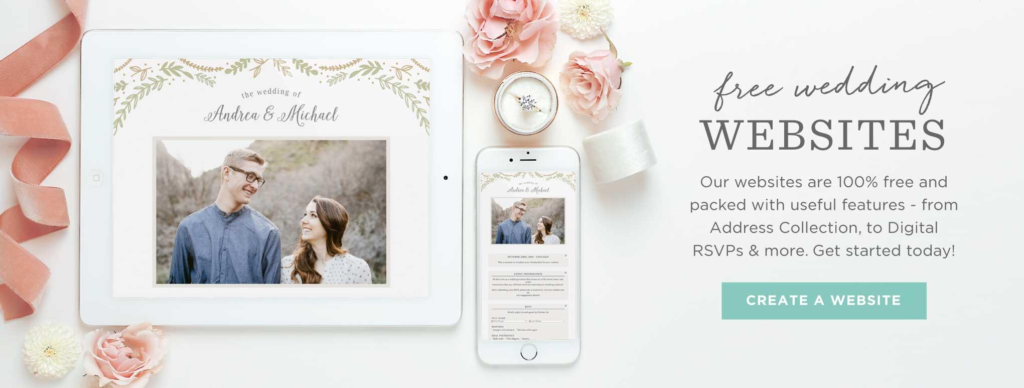 Bridal Shower Website