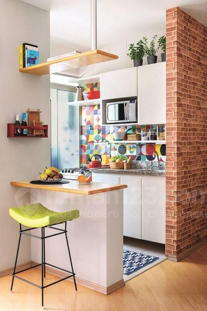 8 Inspirasi Desain Dapur Mungil Ini Bikin Rumah Kecil Jadi Gak ...
